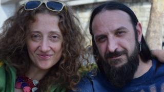 Elena Rudatis and Rocco Errario