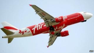 AirAsia plane