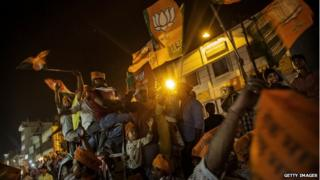 The BJP protest march in Varanasi drew huge crowds