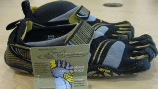 Vibram Five Fingers running shoes