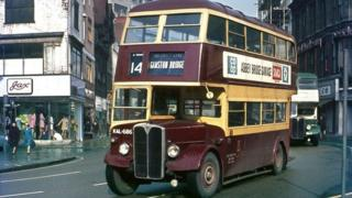 West Bridgford bus from 1954