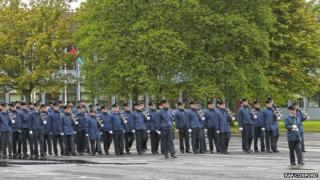 RAF Cosford parade