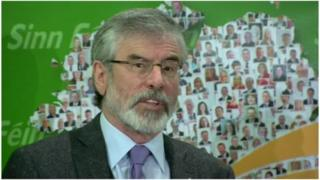 Gerry Adams said his arrest had galvanized the Sinn Féin party and the broader republican family