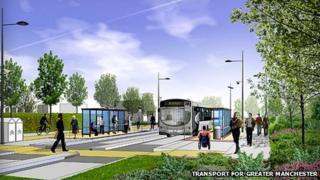 Leigh bus corridor