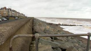 Withernsea coast