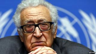 Lakhdar Brahimi January 2014