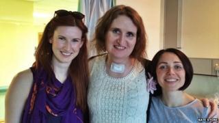Megan Mackey, Kate Stone and Rozelle Kane