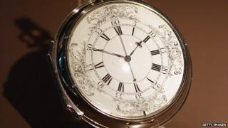 Marine timekeeper H4 watch made by John Harrison in 1759