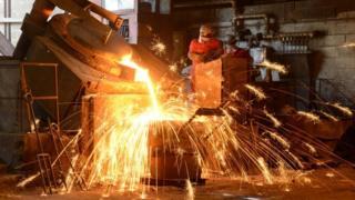 Ballantine iron foundry