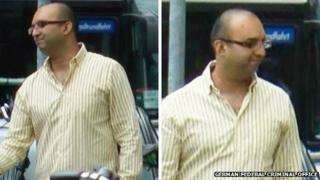 Rakesh Sharma is accused of nine counts of tax evasion totalling 12.8m euros (£10.4m) between November 2010 and May 2011.