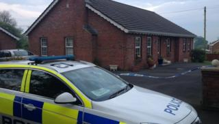 "Police said there had been an ""incident"" at a house in Lisburn"