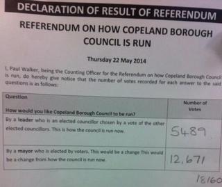 Mayoral result