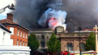 Fakenham fire