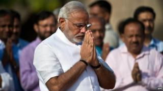 Media say Mr Modi will try to improve relations with India's neighbours