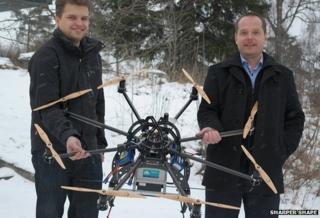 Sharper Shape drone