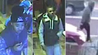 Men police want to speak to in connection to the murder