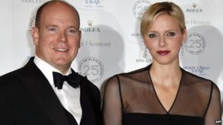 Prince Albert and Princess Charlene ( Nov, 2012)