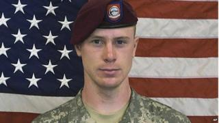 A US Army photograph of Bowe Bergdahl.