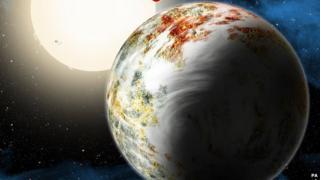 Artist's picture of Kepler-10c