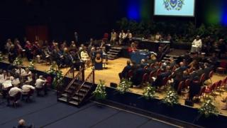 Portsmouth City Council ceremony