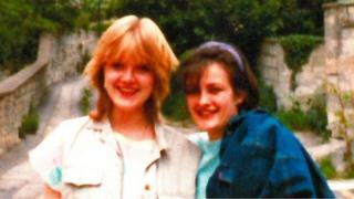 New photo released of Melanie Road (left) and her friend Suzy Heap