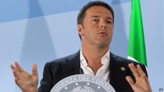 Matteo Renzi - file pic