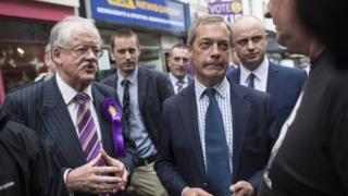 Roger Helmer and Nigel Farage