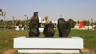 Exhibits, Open Air Sculpture Museum, Jeddah