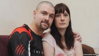 Sarah and Tyron Kunigiskis, Daniel's parents