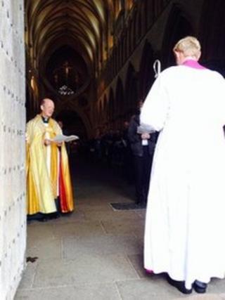 Bishop Peter Hancock