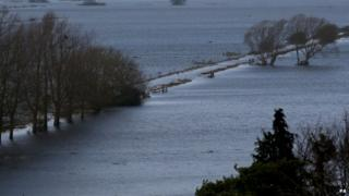 Flooding on the Somerset Levels (Getty Images)