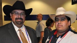 Art Martinez de Vara (left) and Artemio Muniz