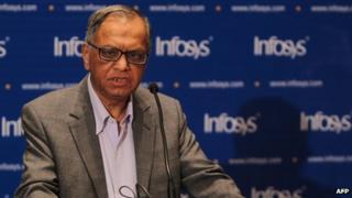 Infosys co-founder Narayana Murthy