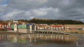 Artists' impression of Scarborough lifeboat station