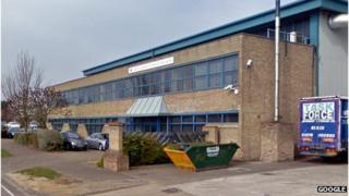 Amtek Aluminium in Freebournes Road, Witham