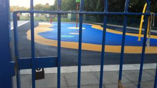 Totton paddling pool