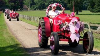 Tractor driver Annie Chapman