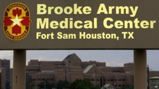Brooke Army Medical Center in San Antonio, Texas, on 12 June 2014