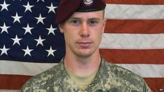 This undated image provided by the US Army shows Sgt. Bowe Bergdahl
