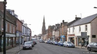 Lockerbie High Street