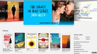 Apple's e-book store