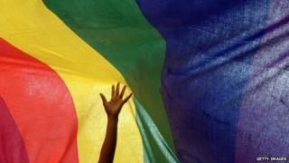 File image: Rainbow flag