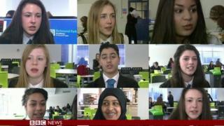 School Reporters on Newswatch