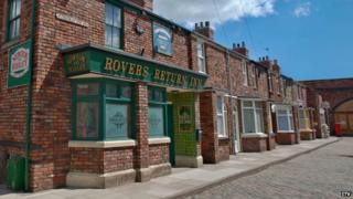 Old Coronation Street set