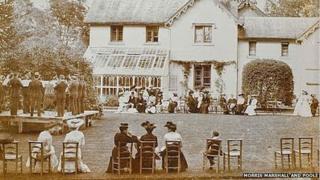 Maenol in the 1800s