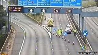 Aston expressway M6 link road