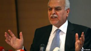 Iraqi former vice president Tariq al-Hashemi