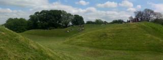 Cirencester amphitheatre