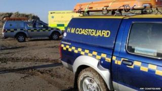 Coastguard vehicles
