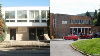 Abergavenny and Caerphilly magistrates' courts